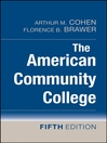 The American Community College (eBook)
